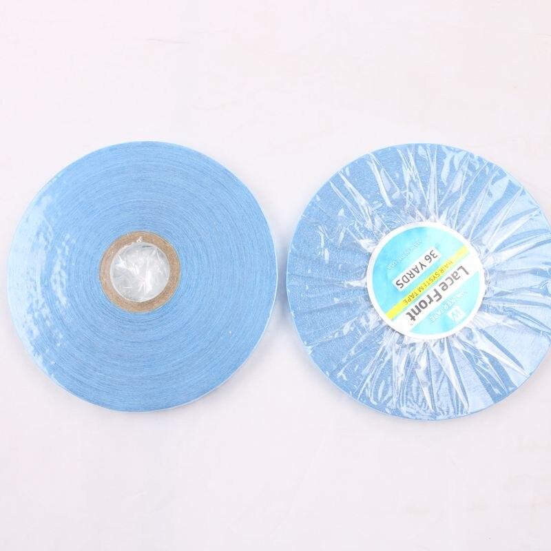 1 rolo ceia laço frente forte fita adesiva perucas cola fita adesivos para extensão do cabelo/peruca de renda/peruca de peruca 36 jardas