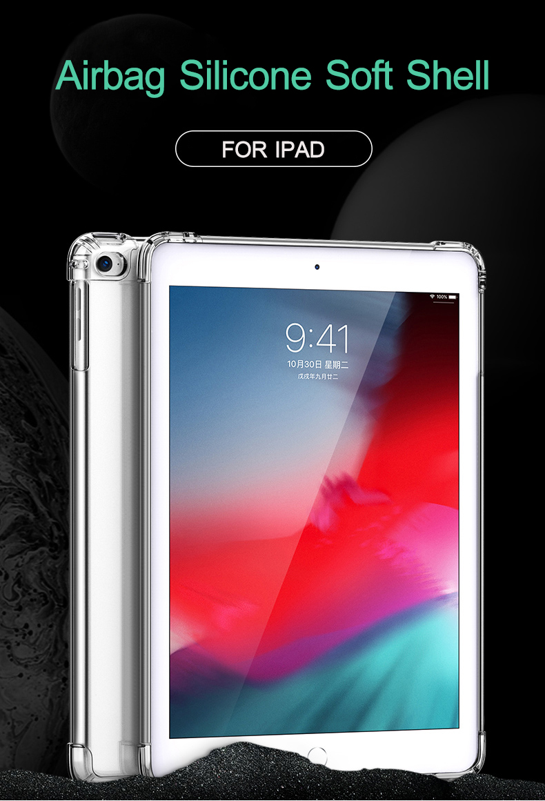 Tablet Transparent Air 2020 Clear 10.9 TPU Back Silicon Case Soft Case For Cover iPad