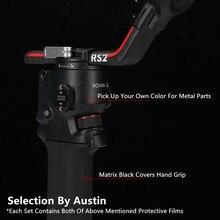 Decal Skin Wrap Film For DJI RS2 Sticker Anti scratch Cover Protector Case