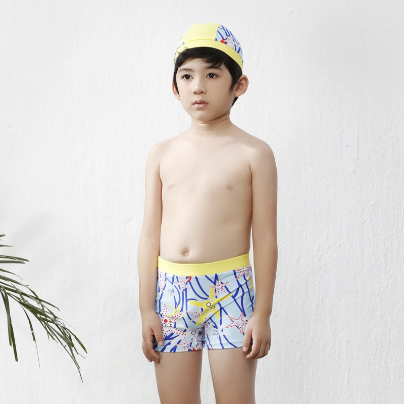 New Style CHILDREN'S Swimming Trunks Fashion Handsome Cute BOY'S Swimming Trunks Children Male Baby Swimming Trunks Gift Swim Ca