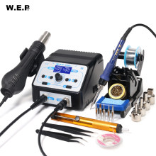 WEP 938BD+-I 750W Hot Air Gun Soldering Station Buy BGA Rework Station Desoldering Station SMD Welding Repair Tools