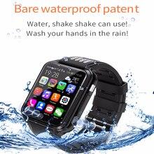 Inteligentny zegarek 4G dziecięcy telefon z systemem Android dzieci SmartWatch z kartą Sim i kartą TF podwójny aparat wifi zegarki pozycjonowanie GPS