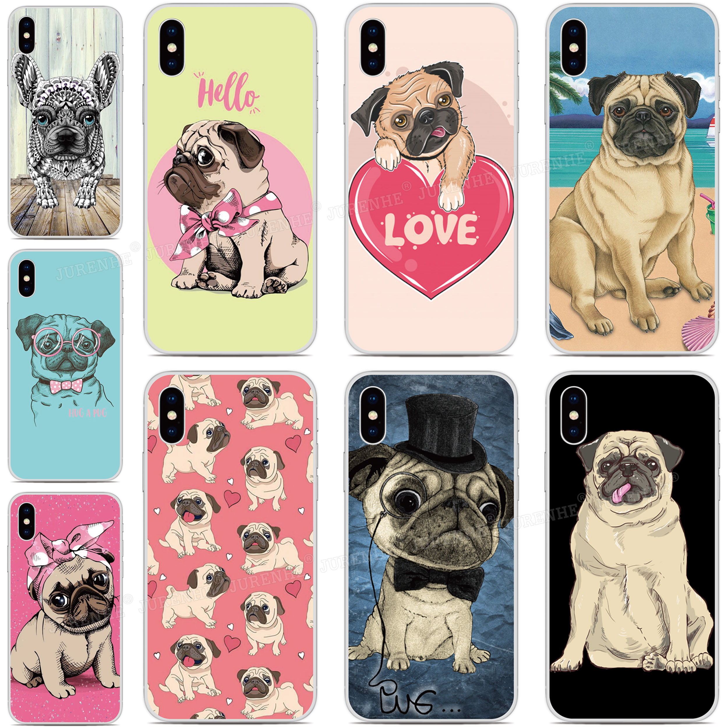 Silicone Custom Photo Funny Pug Puppy Dog Cover For Tp Link Neffos C9s C9 Max X20 Pro C5 Plus C9a C5a C7 Y7 C9 X9 N1 Phone Case Fitted Cases Aliexpress