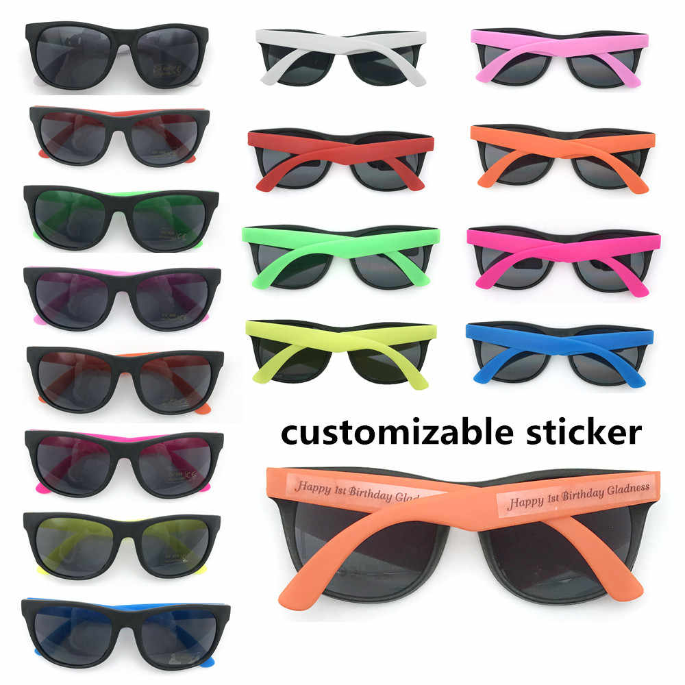 24pairs/lot Kids Sunglasses Party Favors Customize Birthday Party Gifts for Boys Girls Wedding Party Sunglasses Gifts for Kids
