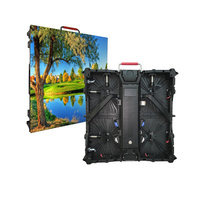Full color SMD waterproof 500x500mm p3.91 display screen outdoor led panel