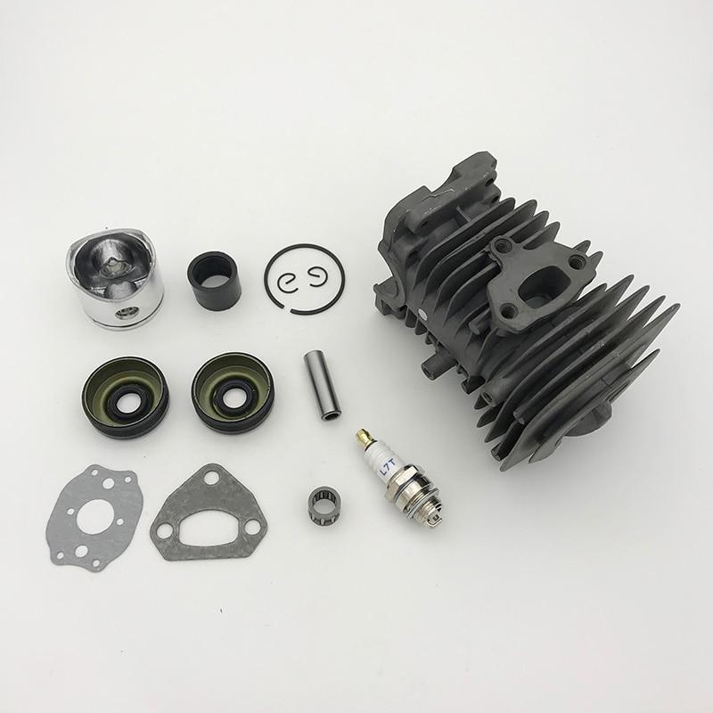 Tools : HUNDURE 38MM Cylinder Piston Ring Bearing Gasket Motor Rebuild Kit For HUSQVARNA 142 141 137 136 Chainsaw Spare Parts
