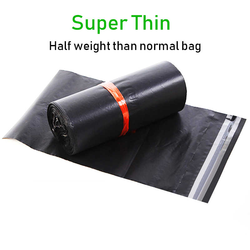 50Pcs/Lot E-commerce Save Weight Courier Bags Light Self-seal Adhesive Postal Shipping Mail Pouch Adhesive Plastic Poly Bag