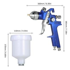 Image 5 - Nasedal Hvlp Luchtspuitpistool Paint Spuit 1.4Mm/1.7Mm 600Ml Gravity Feed Airbrush Kit Auto Meubels schilderen Spuiten Tool