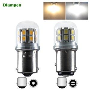 s25 1156 ba15s p21w 1157 bay15d p215w 48v led bulb for truck signal lamp super Equipment Indicator light(China)