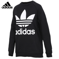 Original Adidas OVERSIZED SWEAT Mens Black Hoodies Sportswear Sweatshirt DH3129