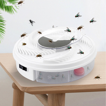 2020 New Electric Fly Trap USB Pest Device Insect Catcher Recycling Automatic Flycatcher Flies Trap Catching Insect Killer electric flycatcher automatic fly trap device with trapping food fly catcher trapper pest insect flytrap usb type fly trap bait