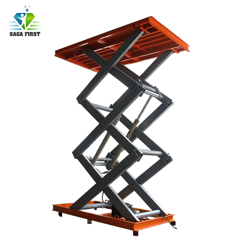 CE Table Lifter Hydraulic Truck Loading Lift Table