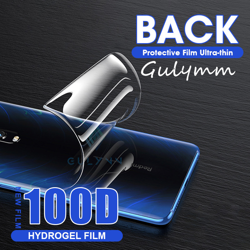 100D Back Screen Protector For Xiaomi Redmi Note 7 8 6 5 K20 Pro Mi 9T Mix 2S 3 A3 Lite Hydrogel Film For Redmi 8 7A Note 6Pro