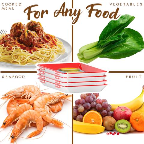 Plateau de conservation des aliments 3