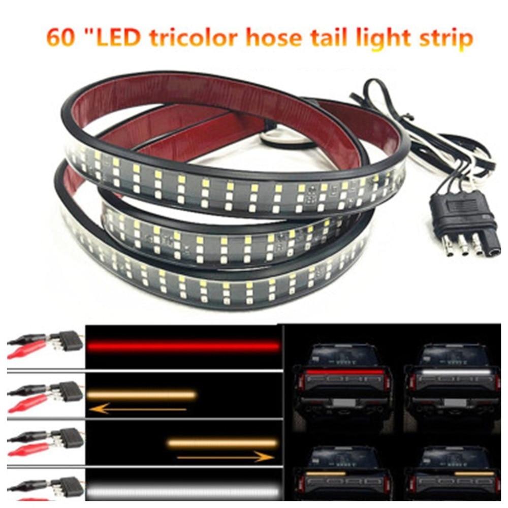 60 Inch Truck Tailgate LED Light 3528 LED Strip Bar Brake Reverse Turn Signal Stop Waterproof Tail Strip Lamparas 40NOV19 (4)