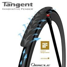 Tai wan qbicle bicicleta tangente fender para bicicletas de montanha bicicletas estrada 20 406 451 dobrável carbono tangente fender