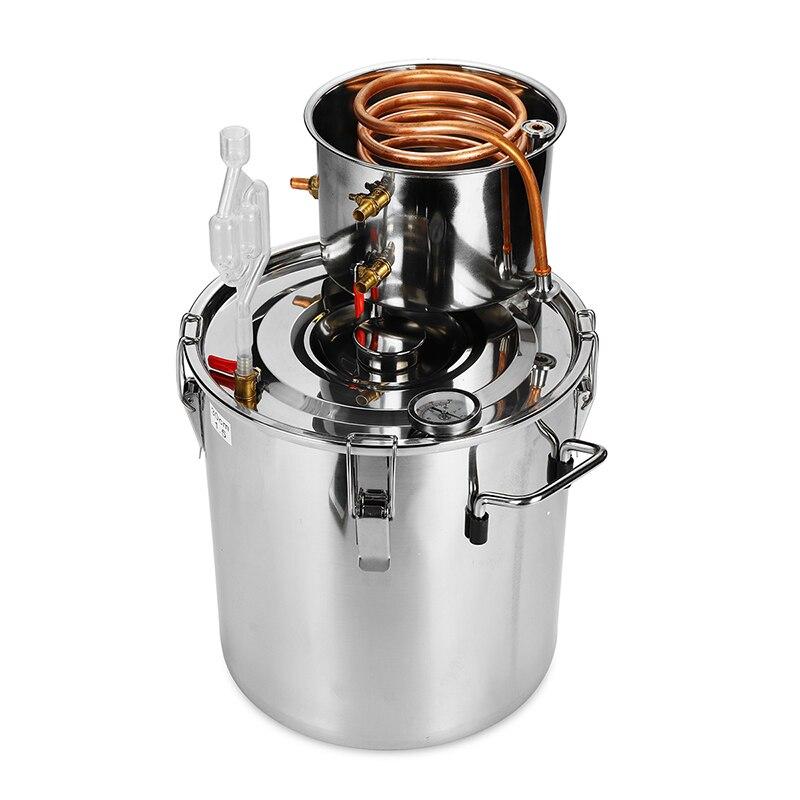 20l destilador moonshine caldeira refrigerador 20l de