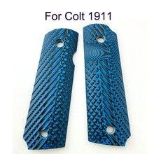 2 шт тактика 1911 ручки синий g10 накладки пользовательские