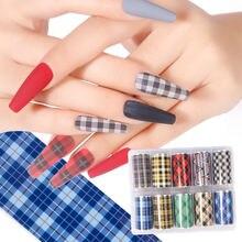 Наклейка для дизайна ногтей на День святого Валентина звездная