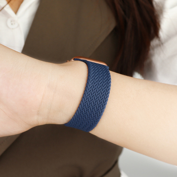 Braided Solo Loop Strap For Apple watch band 44mm 40mm 38mm 42mm Elastic belt bracelet iWatch Apple watch series 6 SE 5 4 3 2 1