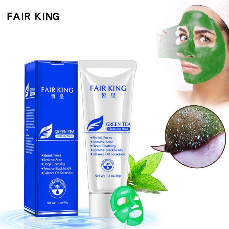 Green Tea Blackhead Remover Acne Treatment Nose Oil-control Mud Pore Strip Mask Whitening Cream Peel Off Mask Nose Peel