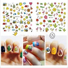 DIY Cute Cartoon Acrylic Powder Poly Gel Nail Polish Nail Art Decorations Crystal Manicure Set Kit Professional Nail Accesorios(China)