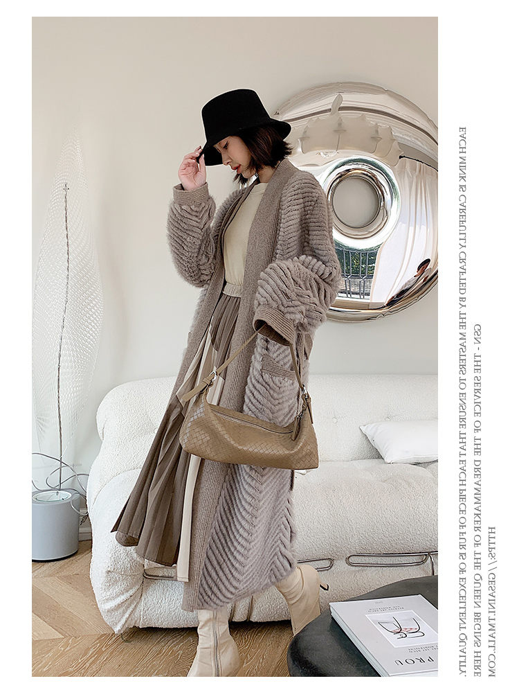 He07db69f5e7941798d56a6de928d7efbo HDHOHR 2021 New High Quality Natural Mink Fur Coat Women With Belt Knitted Real MinkFur Jacket Fashion Warm Long For Female