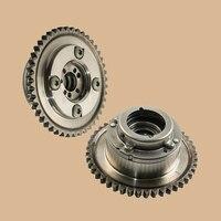 Beler 금속 1 쌍 배기 및 흡기 캠축 조절기 액추에이터 기어 2710503347 메르세데스-벤츠 W204 C250 R172 slk250에 적합