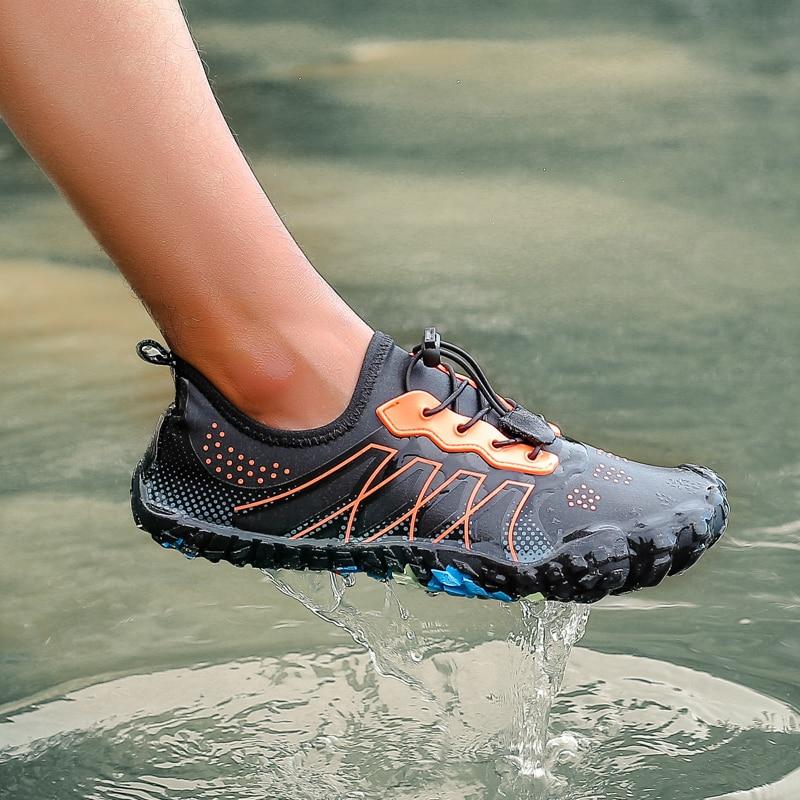Quick Dry Men Women Beach Surfing Diving Water Sports Shoes Nonslip Swimming Aqua Shoes Footwear Elastic Upstream Wading Shoe