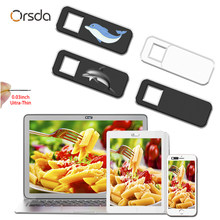 Orsda webcam capa slider laptops câmera capa obturador web cam capa ímã cortina para o telefone da câmera ipad pc macbook tablet(China)
