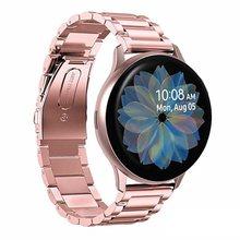 Correa de acero inoxidable para Galaxy Watch Active2, banda activa 2 de 40mm, banda de 44mm y 20mm para Samsung Galaxy Watch Active 2