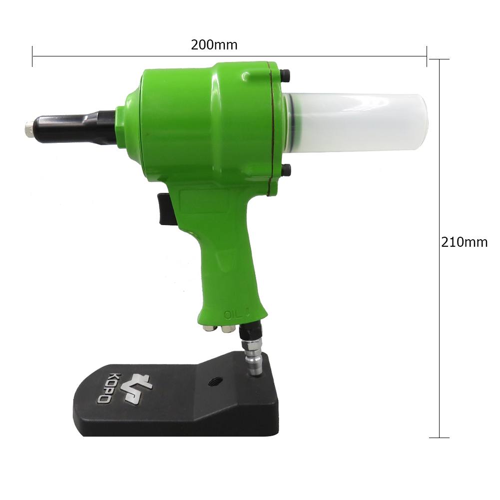 Pneumatic Air Hydraulic Pop Rivet Gun Riveter Industrial Nail Riveting Tool Multi-use Rivet Nut Guns Dropshipping Power Tools