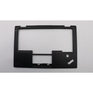 New and Original Laptop Lenovo Thinkpad X1 Yoga Palmrest Keyboard cover case with Fingerprint Hole SB30K59264 00JT863