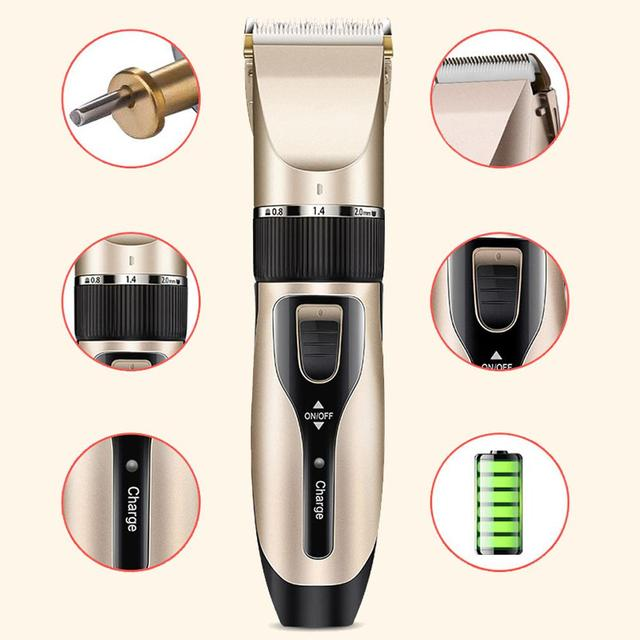USB Dog Hair Trimmer 5