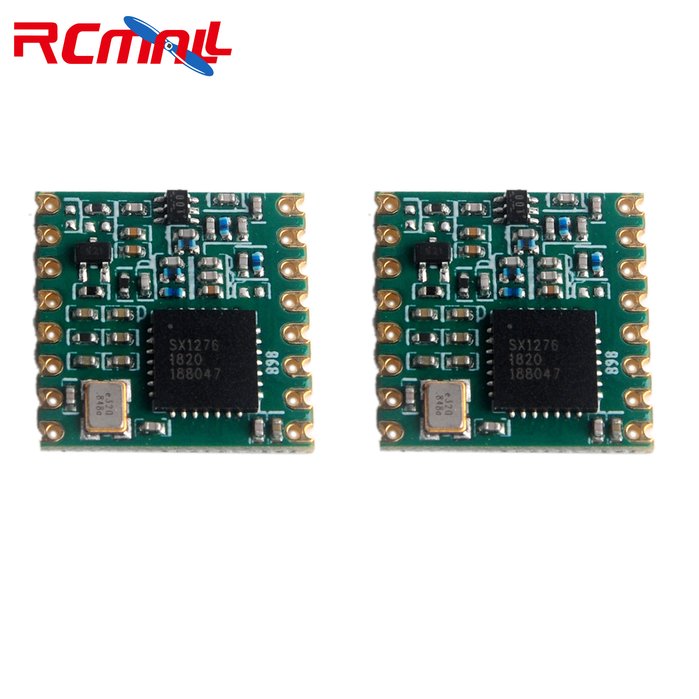 2pcs/lot 868MHz RF LoRa Module SX1276 Chip RFW95 Long-Distance Communication Receiver And Transmitter FZ3020-lora