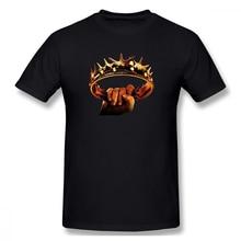 Game Of Thrones Hold The Crown t shirt men Casual Fashion Men's Basic Short Sleeve T-Shirt boy girl hip hop t-shirt top tees