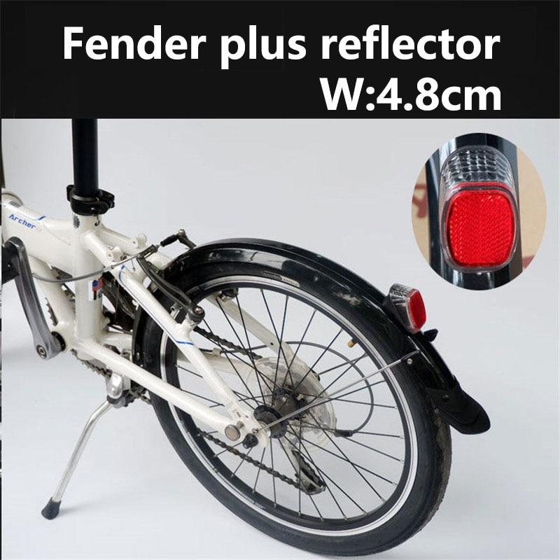 "Fender 20//26//27.5//29/"" Full Length Plastic Folding Bike Mudguard se Cu"