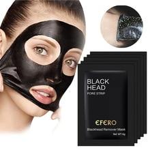 1PC Mitesser Entferner Gesicht Maske Tiefen Reinigung Hautpflege Peel Off Masken Reinigung Mitesser Schwarz Bambus Holzkohle Masken TSLM2