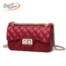 купить Luxury Leather Crossbody Bags for Women 2019 New Clutch Chain Shoulder Bags Designer for Female Ladies Messenger Small Bag по цене 696.9 рублей
