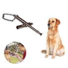 Тренировочный свисток для собаки, собаки, щенка, звук, портативный, Регулируемая частота, собачья флейта, Отличное средство для тренировки, до 400 ярдов#3O29
