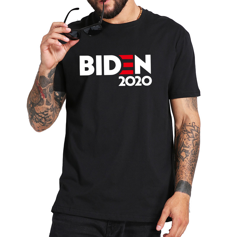 Biden 2020 T Shirt Joe Biden For President Tshirt 100% Cotton Soft Breathable Tee Basic Short Sleeve Camiseta