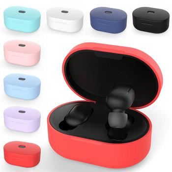 For Bluetooth Earphone Auriculares Protective Case for Xiaomi Redmi Airdots Tws Mi Air Dots Wireless Heaphone for Xiaomi Airdots image