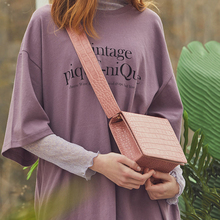 Fashion Alligator Small Flap Women Shoulder Bags Designer Wide Strap Crossbody Bag Luxury Pu Leather Messenger Bag Ladies Purses цены