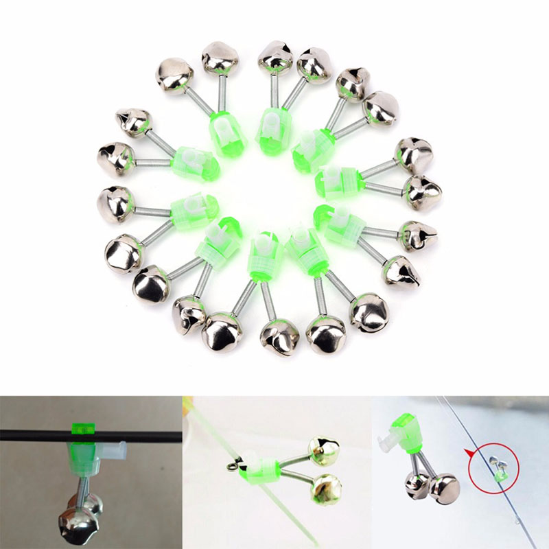Fishing tool fishing alarm light bell squid bell alarm double luminous fish bell sea rod bell sea otter fishing tackle