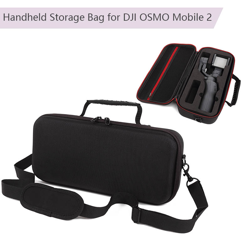 For DJI Osmo Mobile 2 Handheld Gimbal Waterproof Storage Bag Portable Carry Case