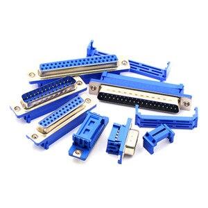 5 шт. DB9 DB15 DB25 DB37 DIDC9/DIDC15/DIDC25/DIDC37 штекер последовательный порт разъем idc обжимной тип D-SUB rs232 адаптер