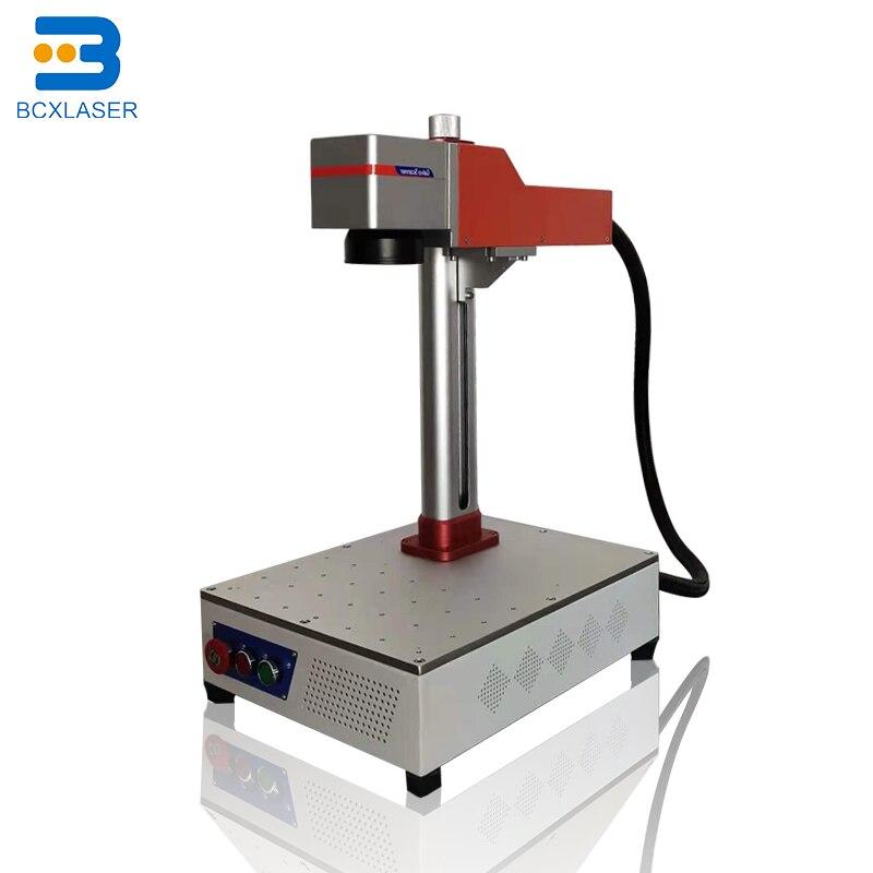 Jewelry Ring Engraving Machine 20w Fiber Laser Engraving Marking Machine For Sale