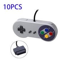 10PCS/lot Gamepad 16 Bit Controller for Super Nintendo SNES System Console Control Pad