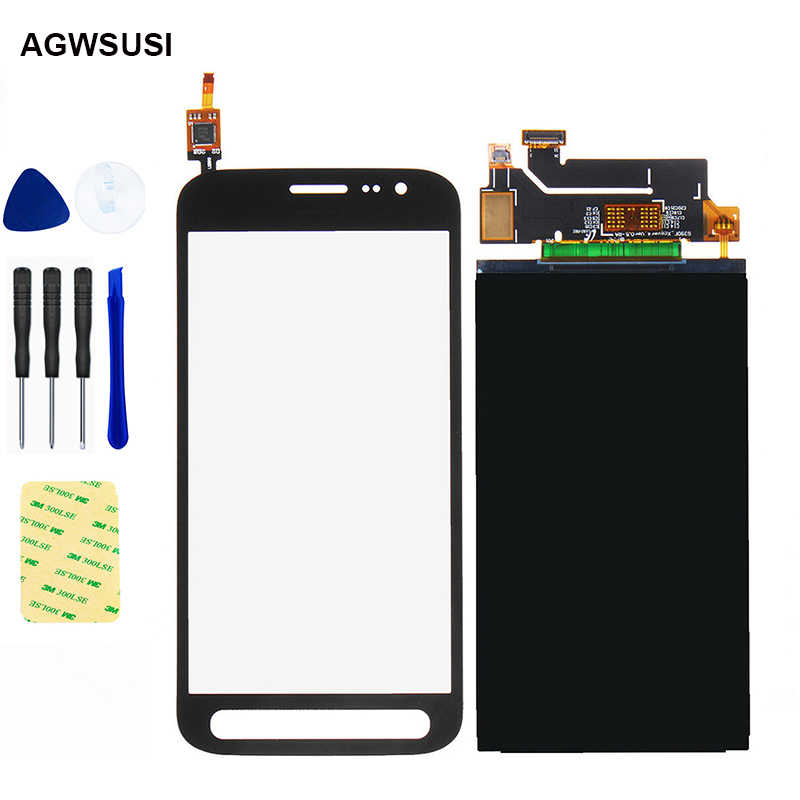 Nieuwe Voor Samsung Galaxy Xcover 4 Lcd Touch SM-G390F G390F Lcd-scherm G390 Lcd Display + Touch Screen Digitizer sensor Glas