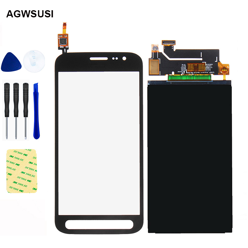 New For Samsung Galaxy Xcover 4 LCD Touch SM-G390F G390F LCD Screen G390 LCD Display Panel + Touch Screen Digitizer Sensor Glass